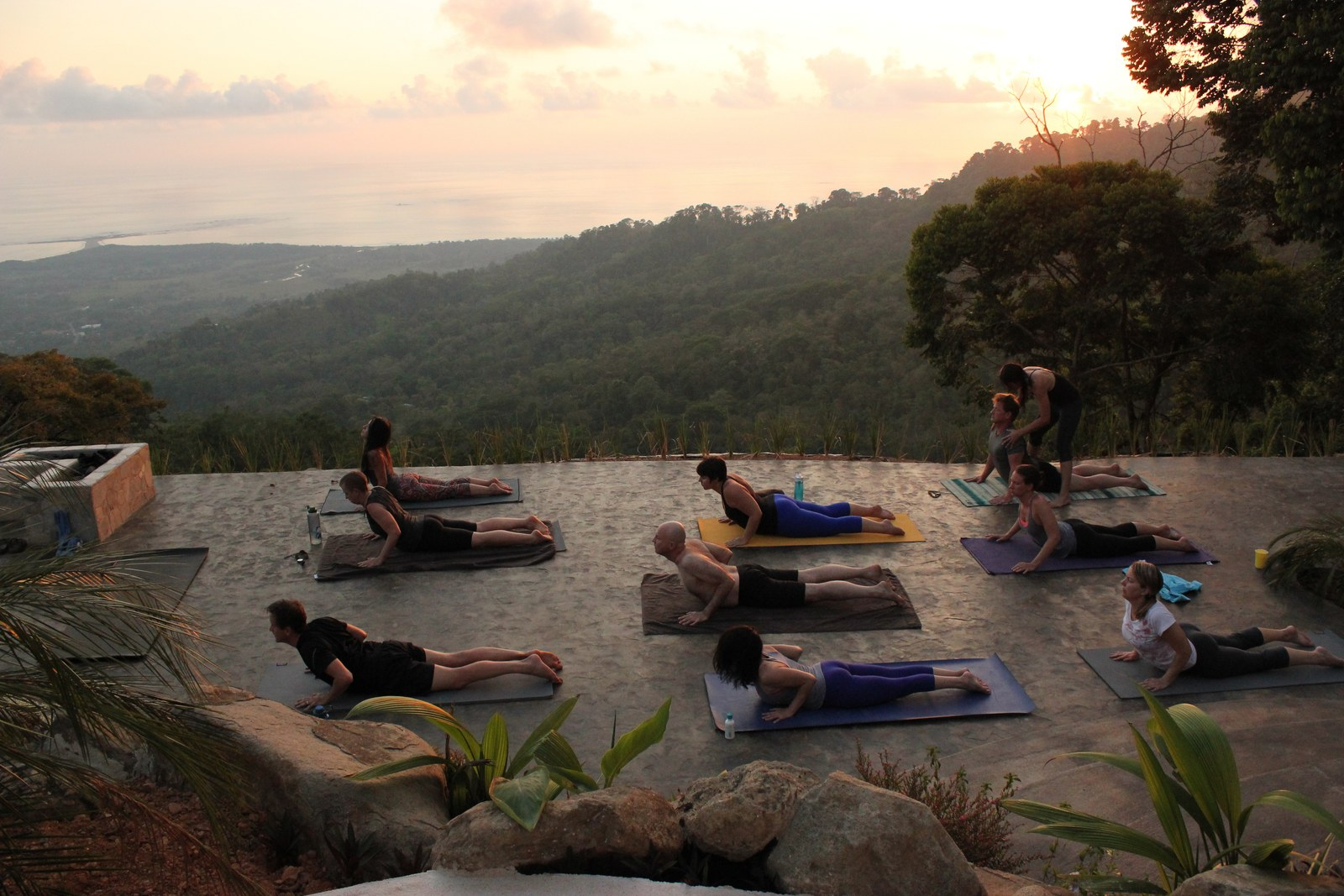 Sunset Yoga, Costa Rica Yoga Retreat